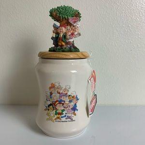 Keebler Elves Elf Cookie Jar Ceramic Canister